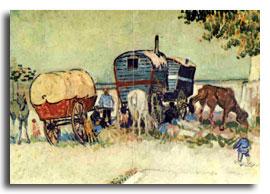 Los Gitanos - Vincente Van Gogh