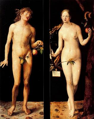 Adan y Eva - Alberto Durero - 1507