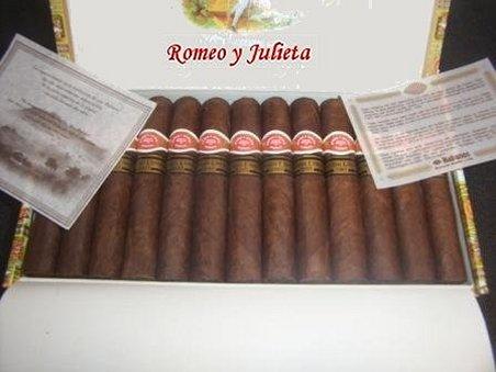 Cigarros Romeo y Julieta