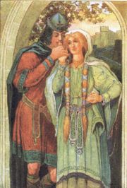Tristan_and_Isolde - Louis Rhead