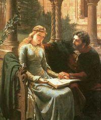 Edmund_Blair_Leighton Abaelard et Heloisise 1882